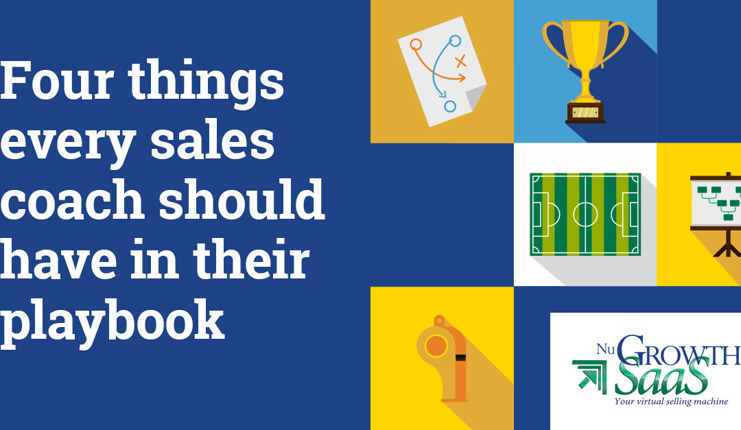 Four Things Every Sales Coach Should Have in Their Playbook